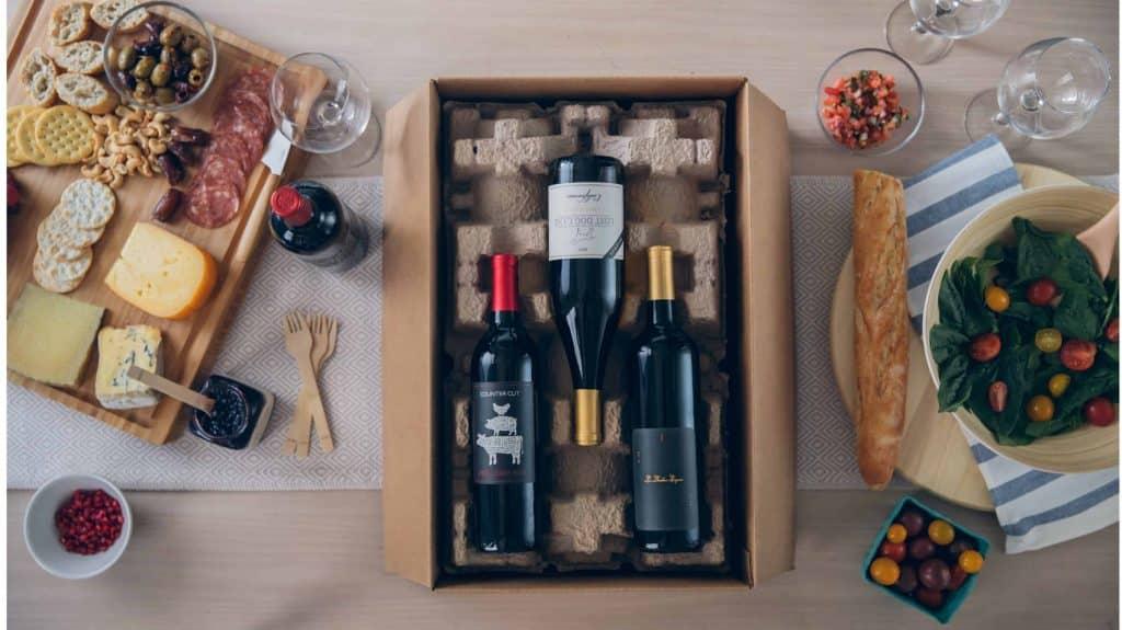 Box vin et fromage