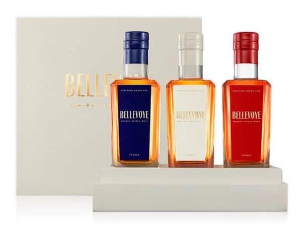 Coffret Whisky assortiment de trois whiskies triple malt