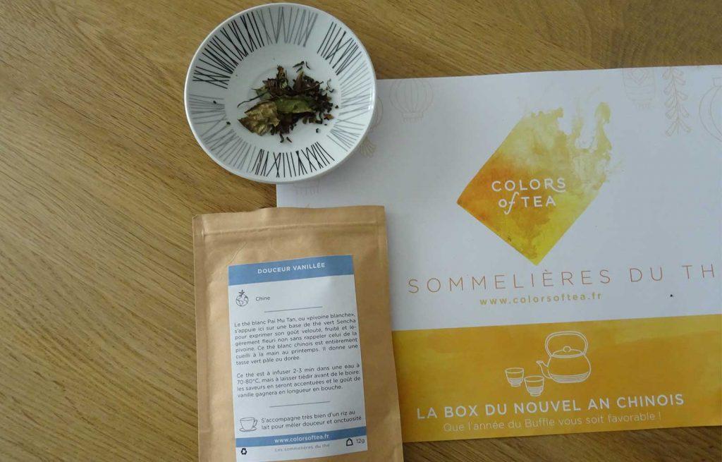colors of tea Douceur vanillée