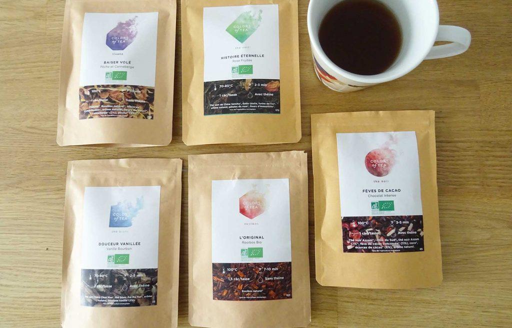 colors of tea février