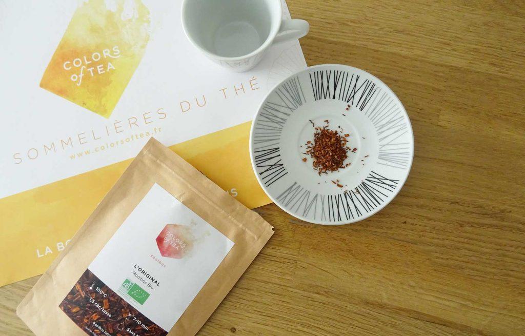 colors of tea rooibos