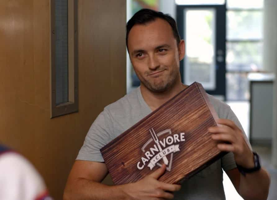 Tim Ray, le créateur de Carnivor Club
