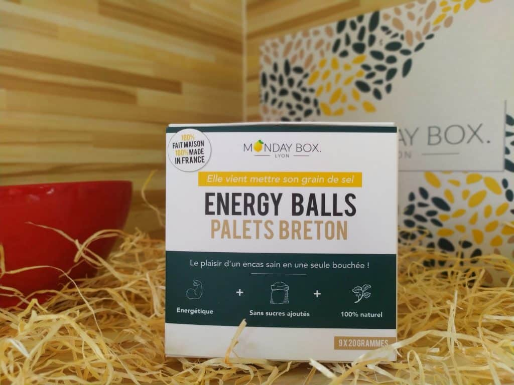 monday box energy balls