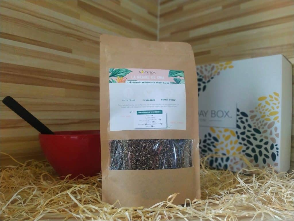 monday box chia seeds