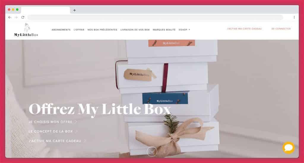 La carte cadeau My Little Box