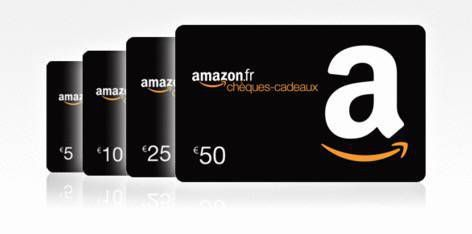 La Carte cadeau Amazon