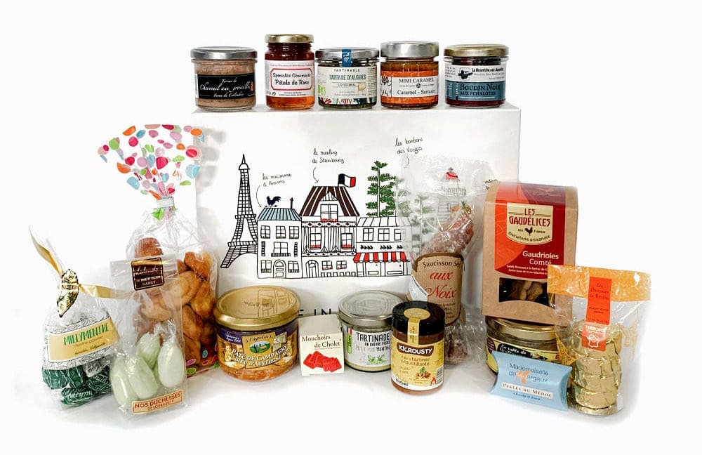 coffret cadeau à personnaliser de Made in France Box