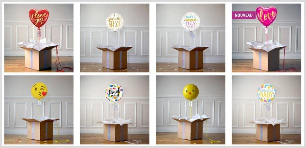 Les livraisons de ballons cadeaux de the Pop Case