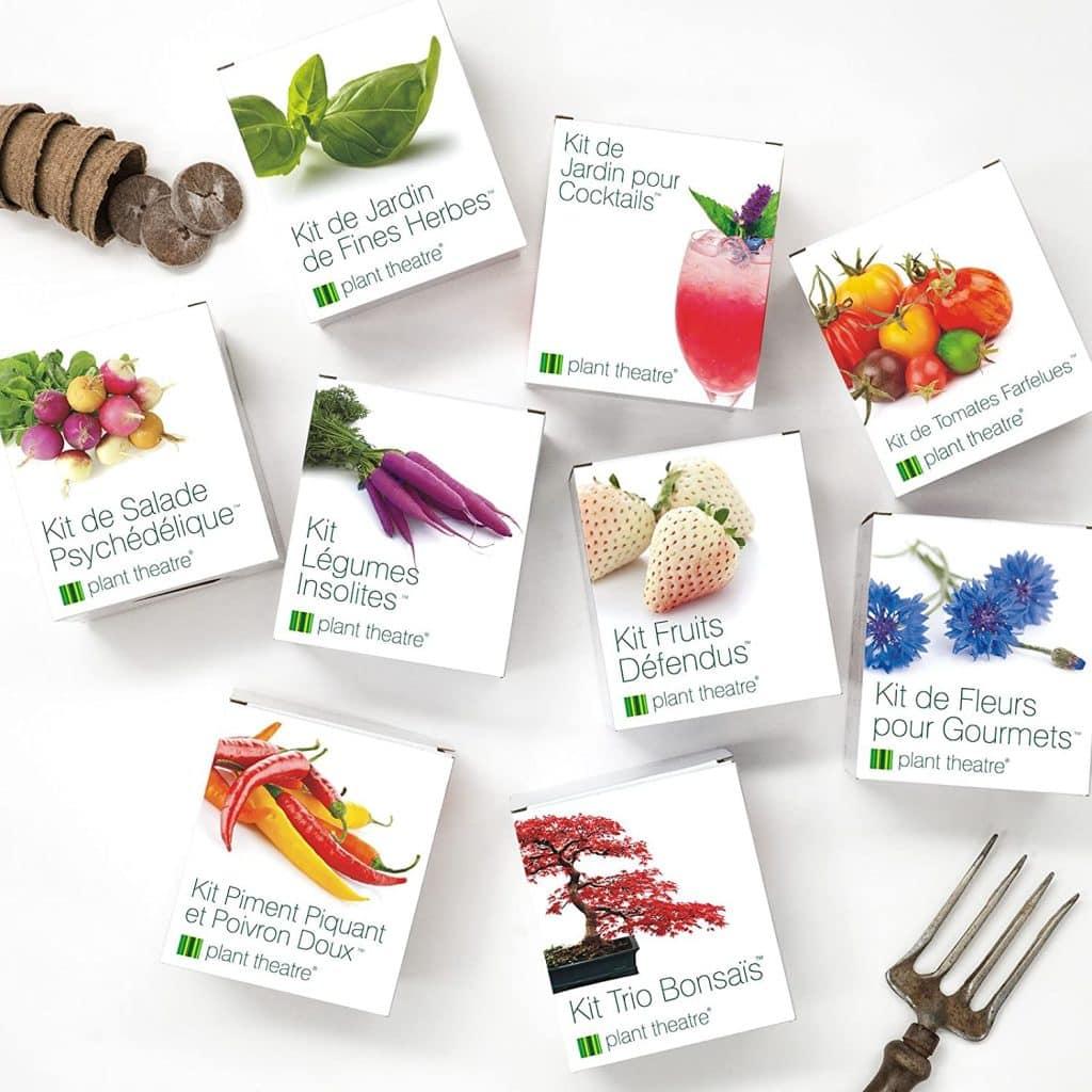Kit de legume à offrir à un fan de cuisine en cadeau