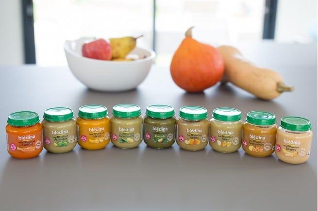 Les petits pots pour bébé Bledina