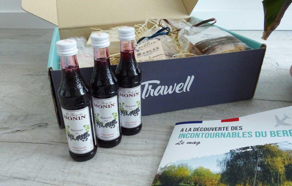 trawell box sirops monin