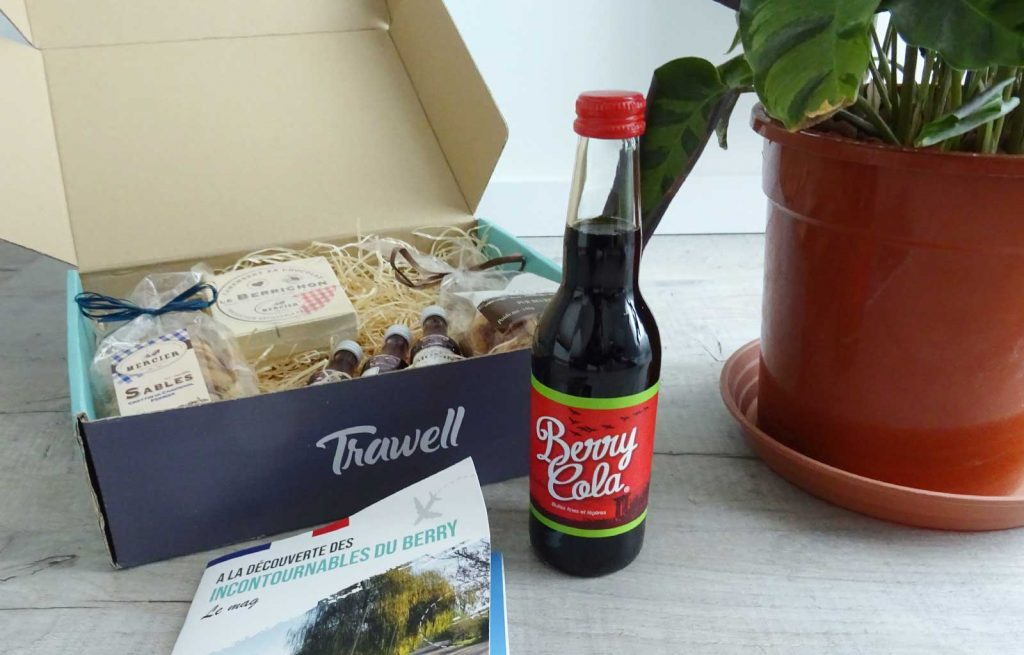 trawell box berry cola