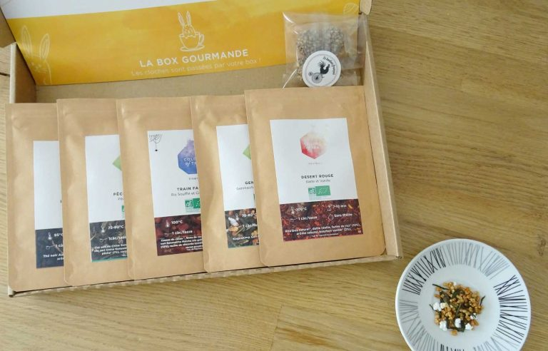 colors of tea gourmande