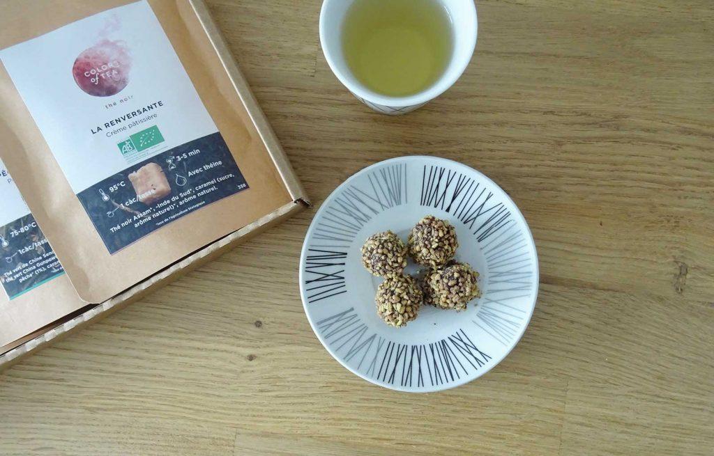 colors of tea gourmande sac de billes le bonbon français