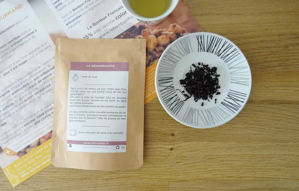 colors of tea gourmande la renversante