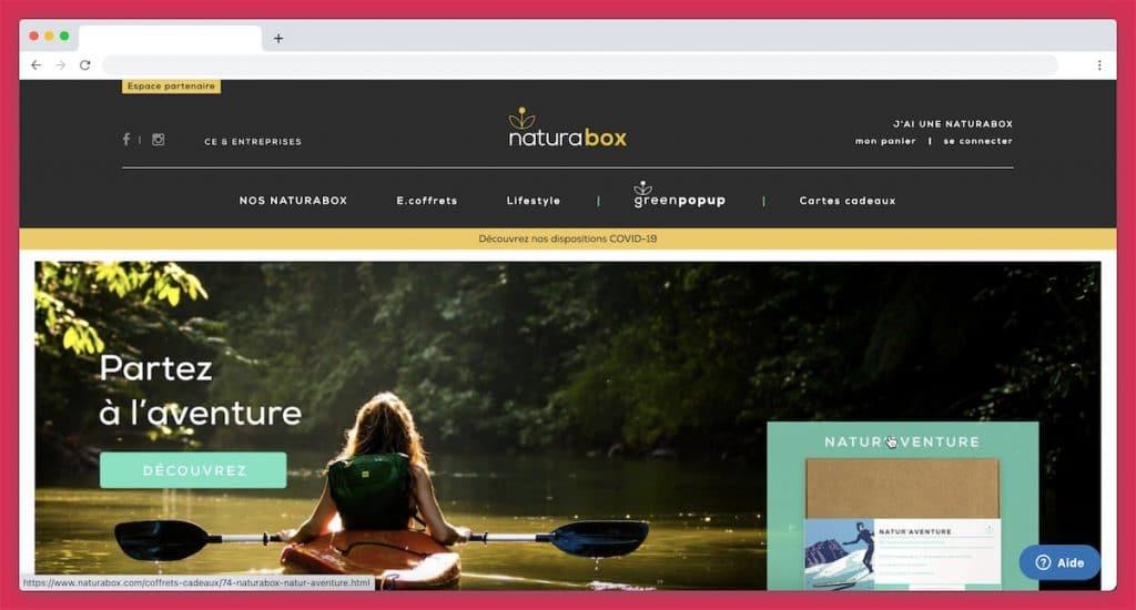 NaturaBox : la Box voyage du tourisme écoresponsable