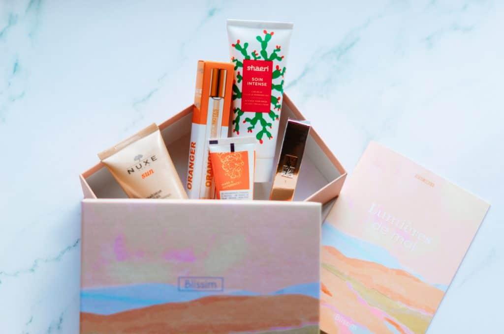 Les produits de la Box Blissim