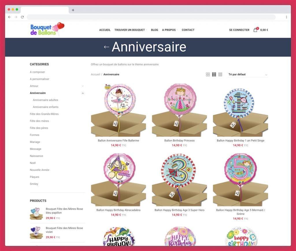 Bouquet de ballons : le cadeau ballon à personnaliser pour un anniversaire
