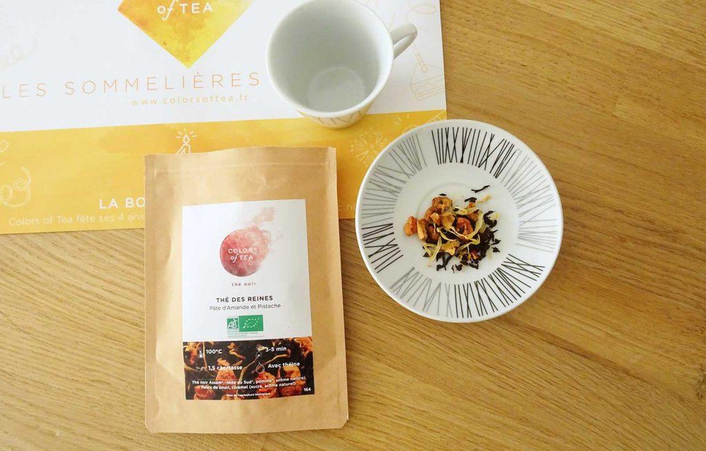 Colors of Tea thé des reines