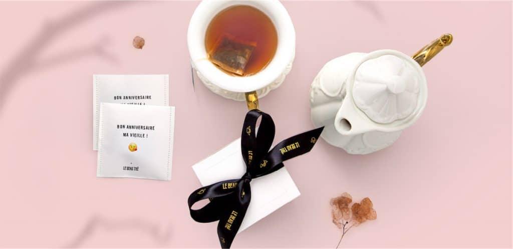 Le coffret cadeau de thé Le beau Thé