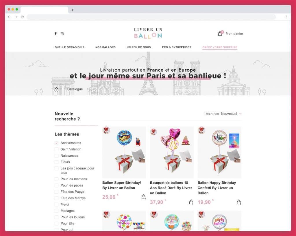 Livrer un Ballon : la livraison rapide partout en France et en Europe