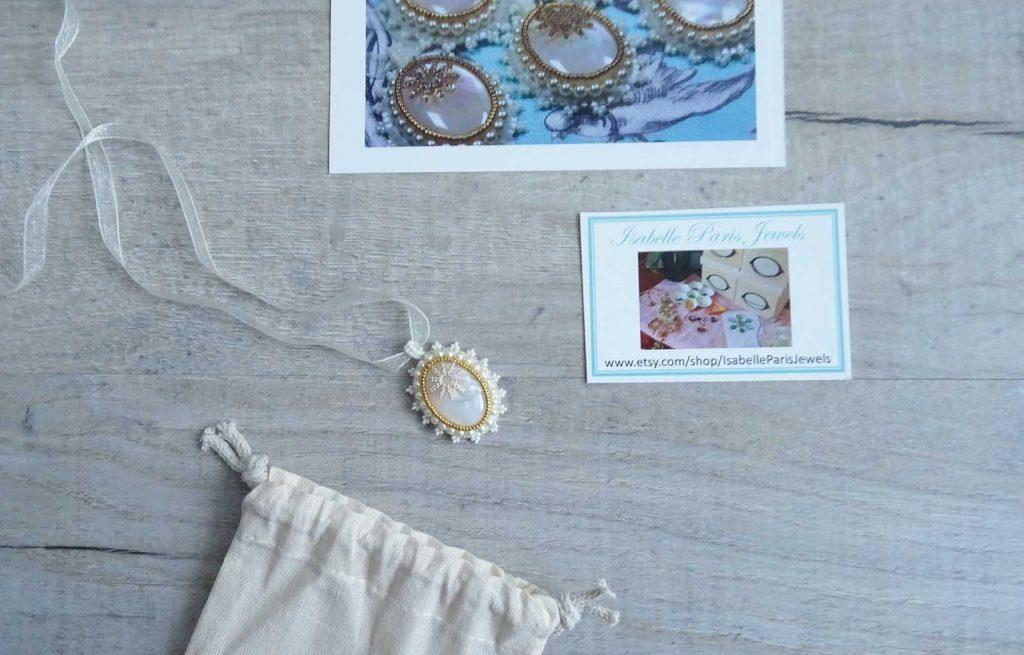 PrettyMuse box collier Manon Isabelle Paris Jewels