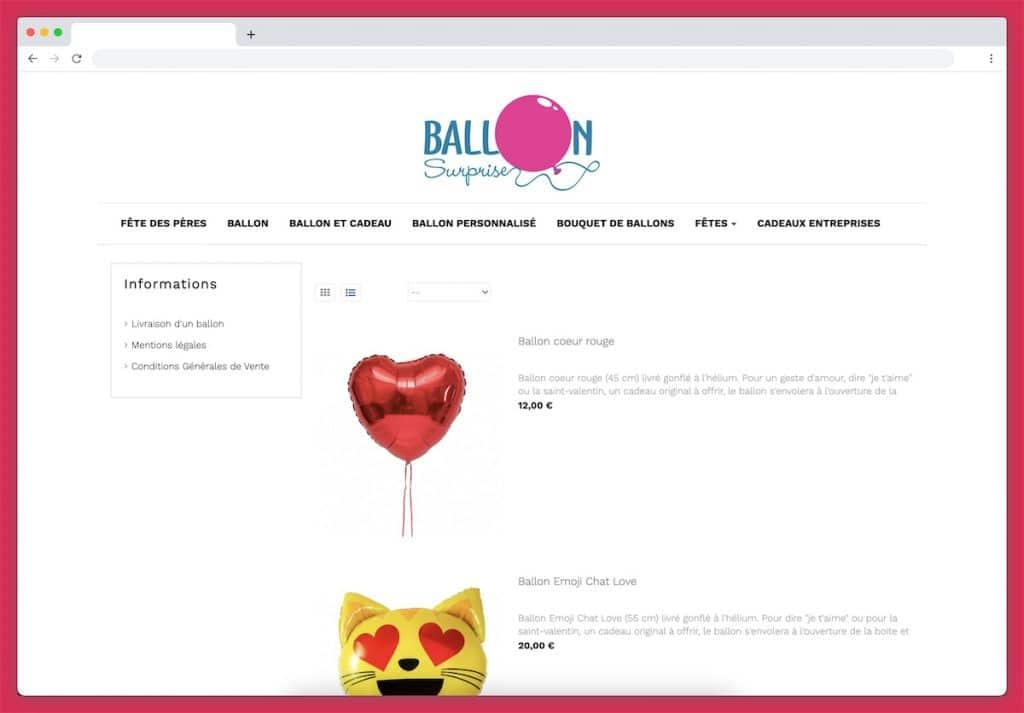 Ballon surprise : un joli geste d'amour 100 % surprise