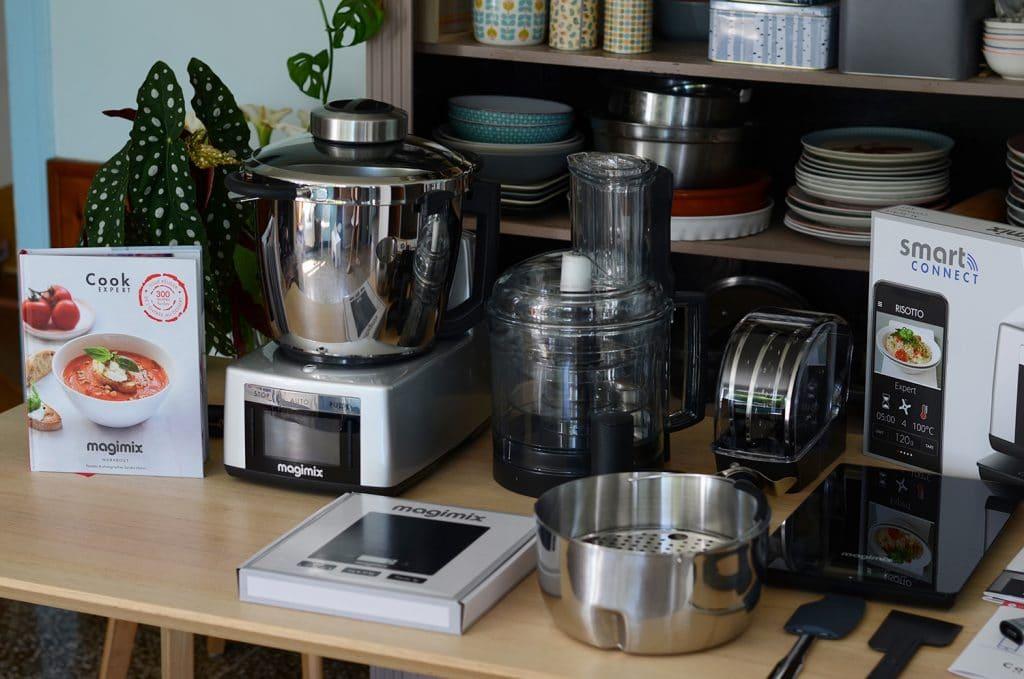 Le Magimix Cook Expert et tous ses accessoires