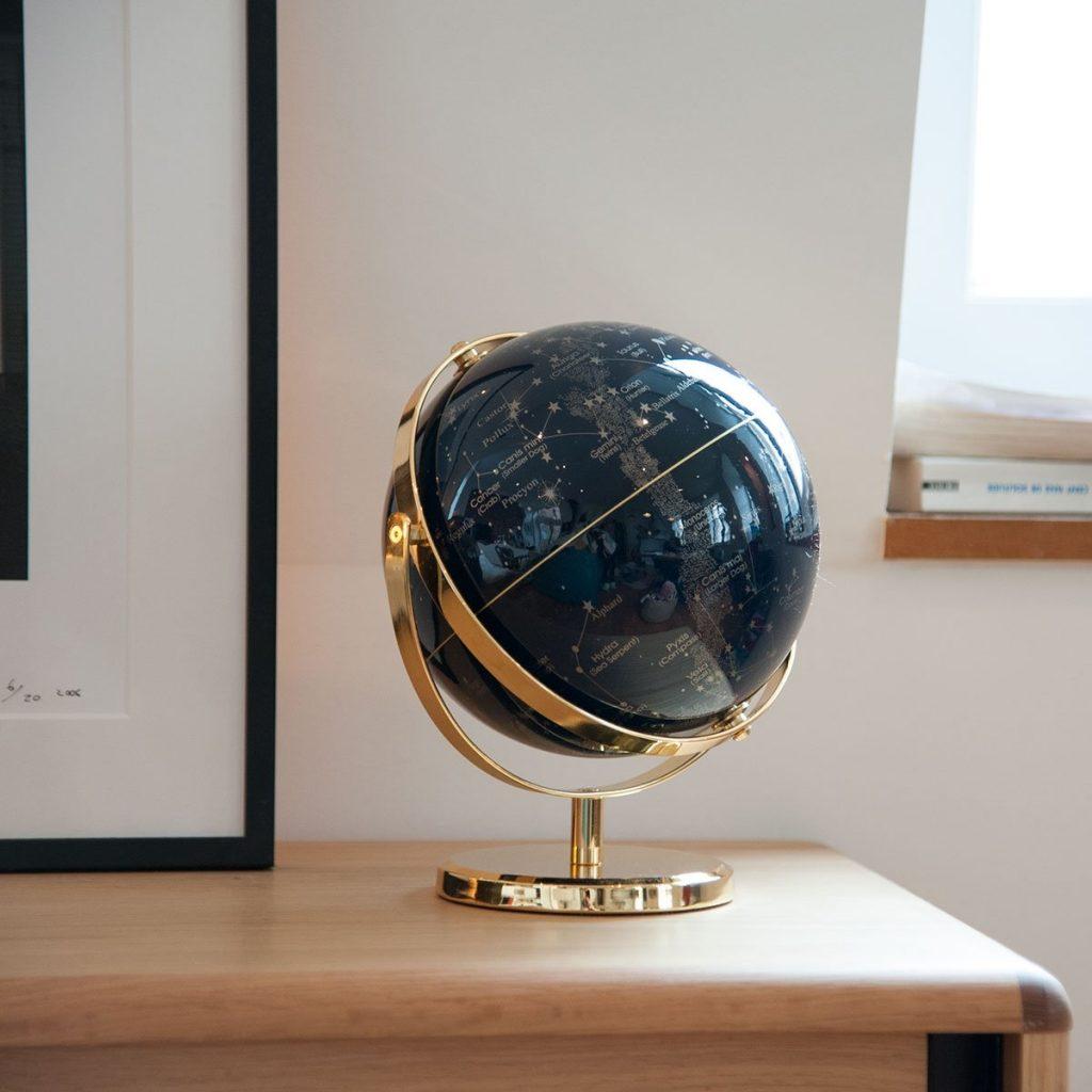 Le globe terrestre des raffineurs