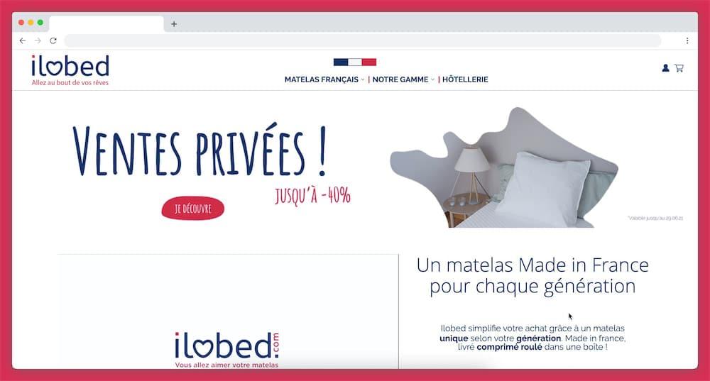 Ilobed, le matelas français