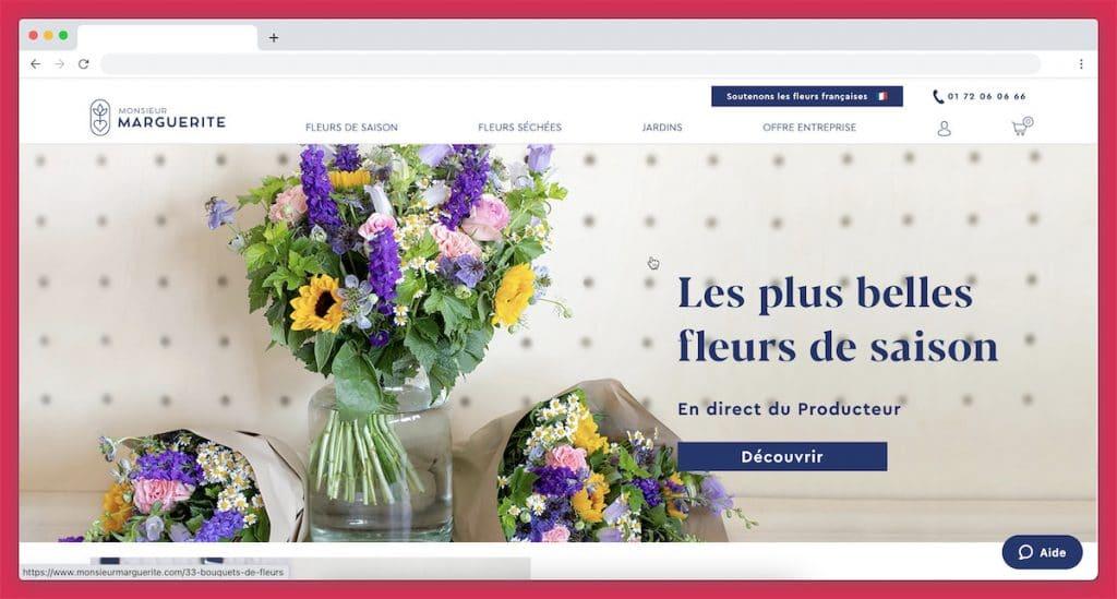 Monsieur Marguerite : une sélection écoresponsable 100 % française