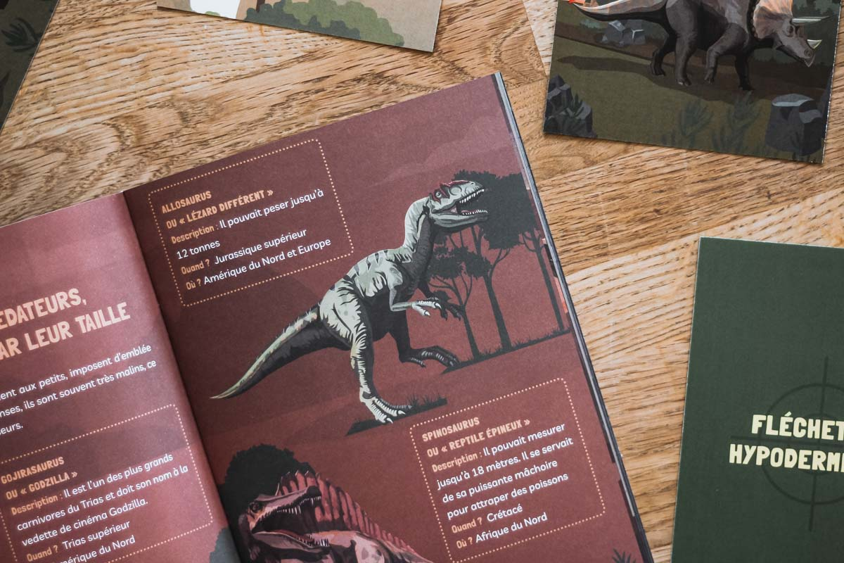 MysterioKid : mission dinosaures