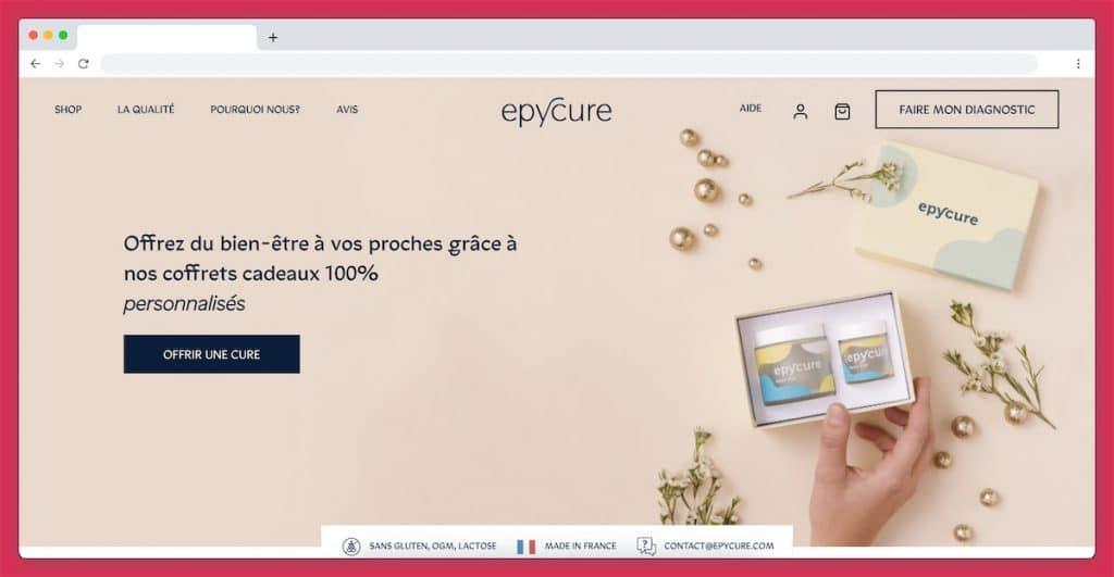 Les offres cadeaux d'Epycure