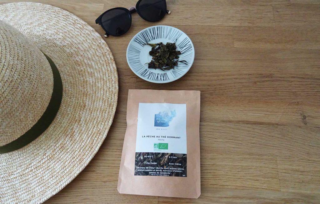 colors of tea juillet 2021 pêche au thé dormant