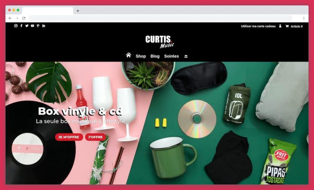 Curtis Music : le subtil mélange de musique et lifestyle