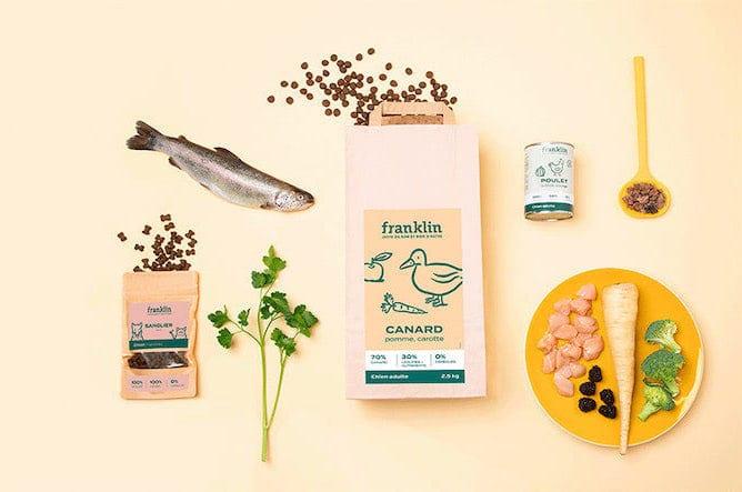 Les croquettes pour chiens et chats Franklin Pet Food