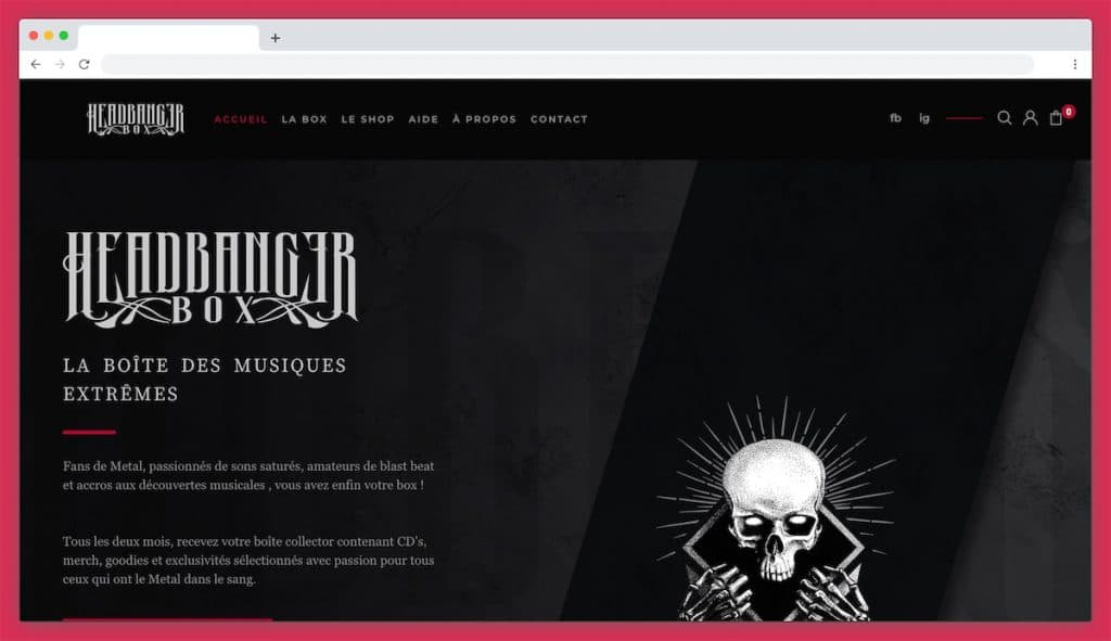 Headbanger box musique : pour les adeptes de Metal !