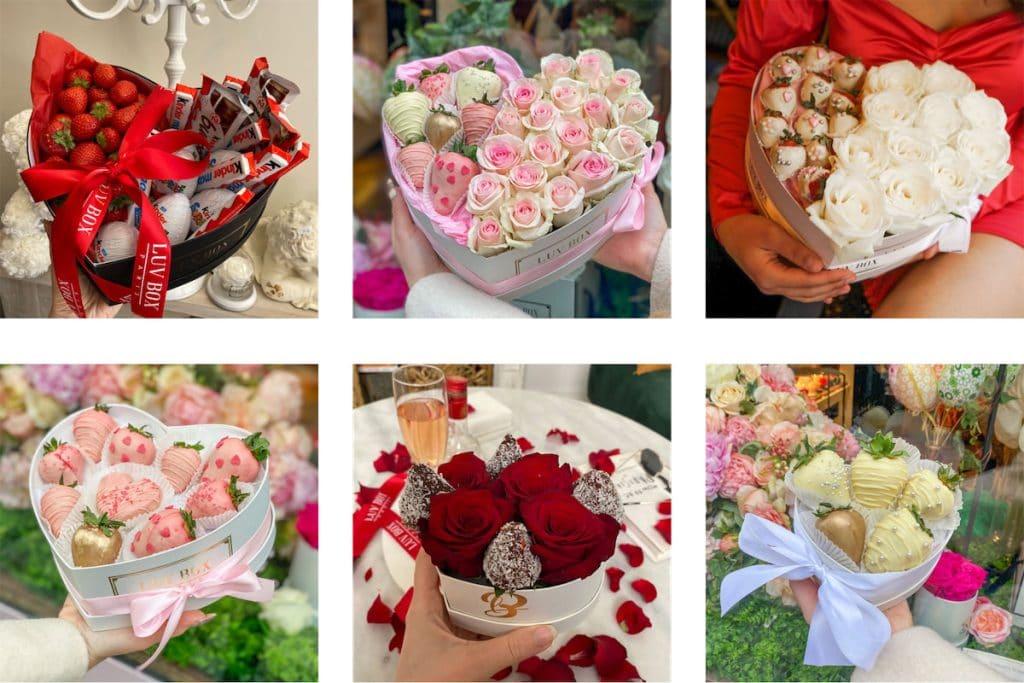 La Sweet Box - la boite de Roses et Chocolats