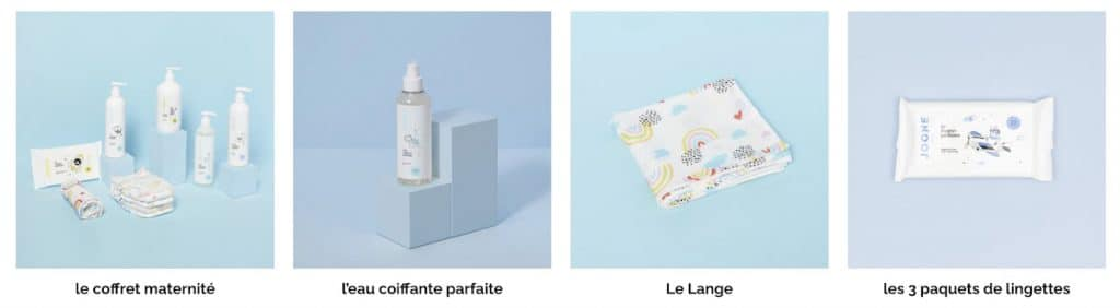 Les produits pour bébé Joone