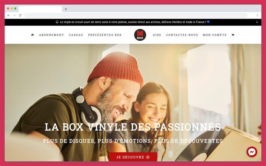 M Box Music : La Box musique pour les passionnés de vinyles
