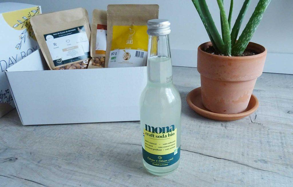 mondaybox apéro party limonade mona
