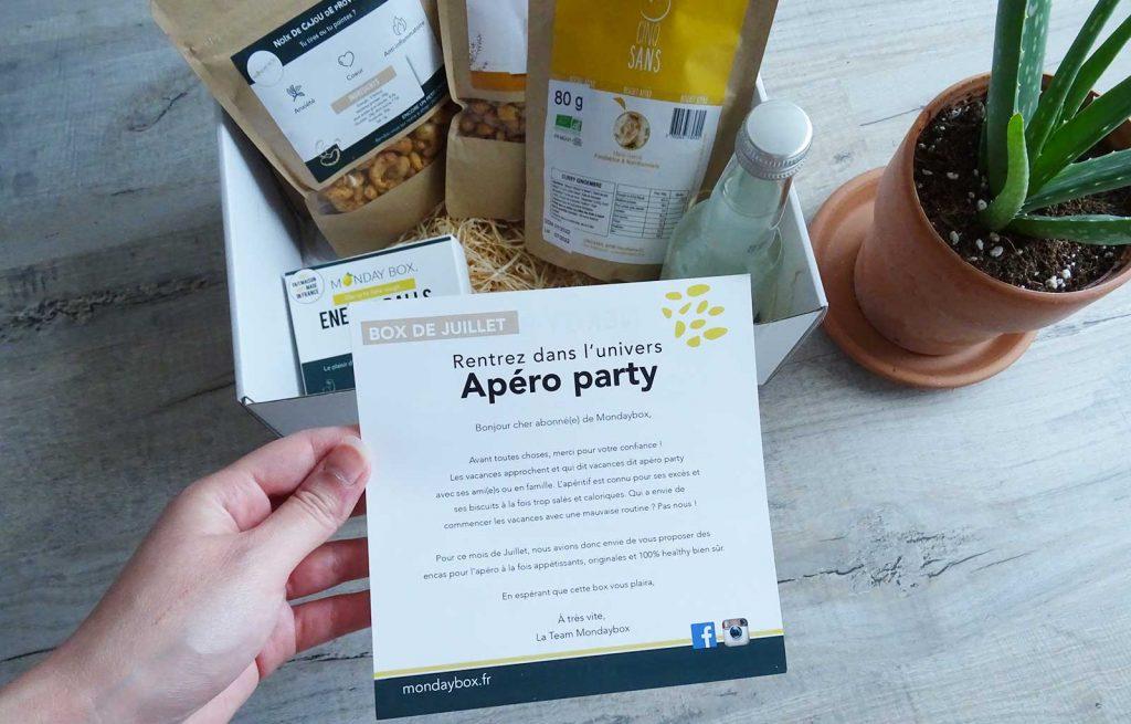 mondaybox apéro party