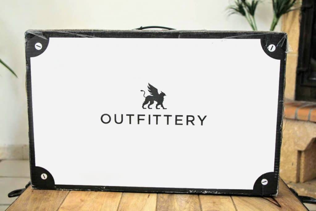 Le colis Outfittery