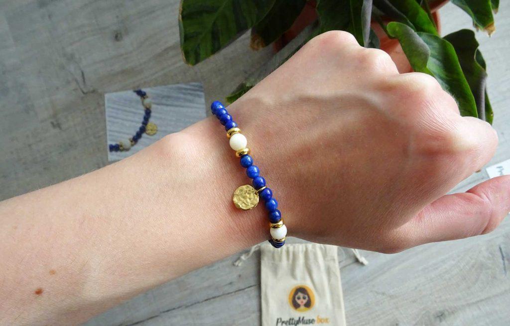 PrettyMuse box bracelet Isabelle Paris Jewels
