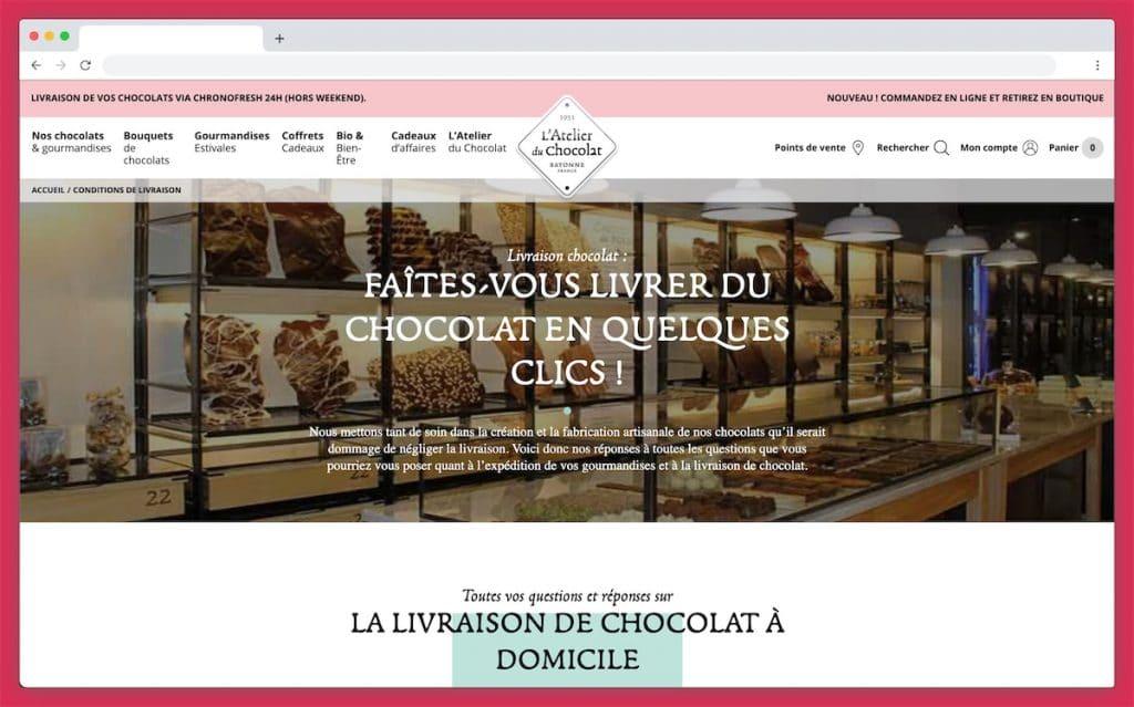 L'Atelier du Chocolat : coup de coeur pour les Bouquets de Chocolats® chez soi