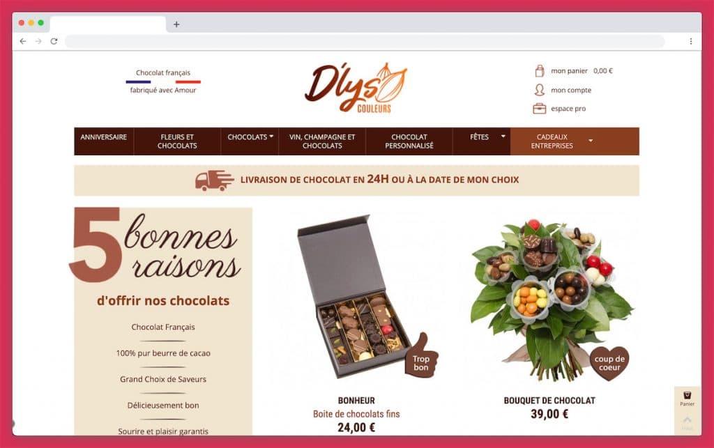 Dlys Couleurs : la livraison de chocolat à domicile qui n'oublie pas les DOM-TOM