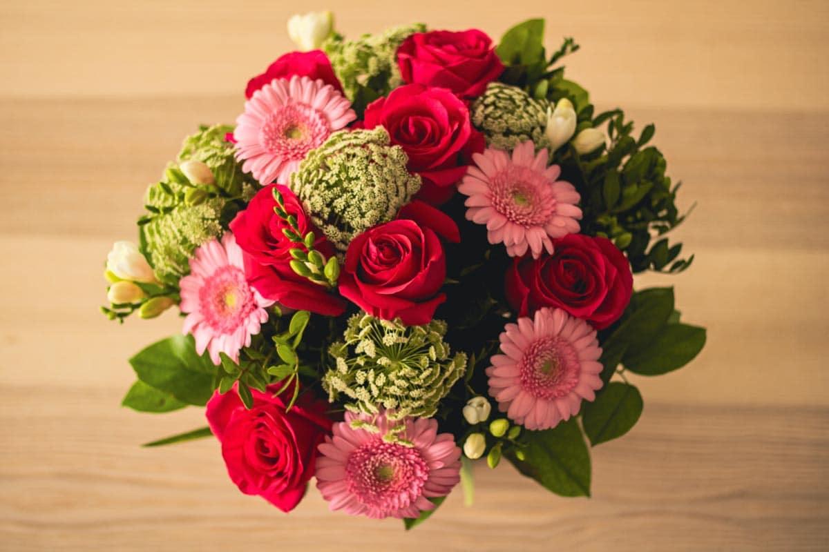 Le bouquet que j'ai reçu pour donner mon avis sur Florajet