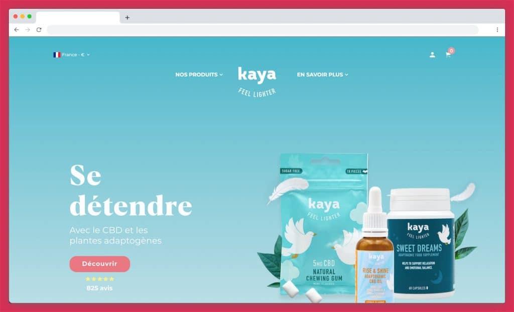 Le site de Kaya