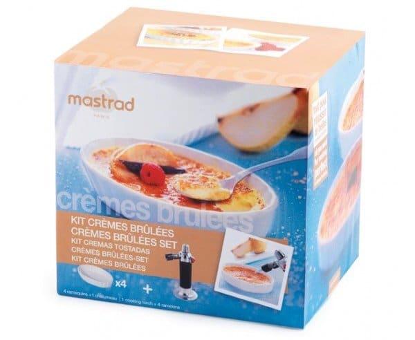 Le Kit Patisserie crème brûlée de Mastrad