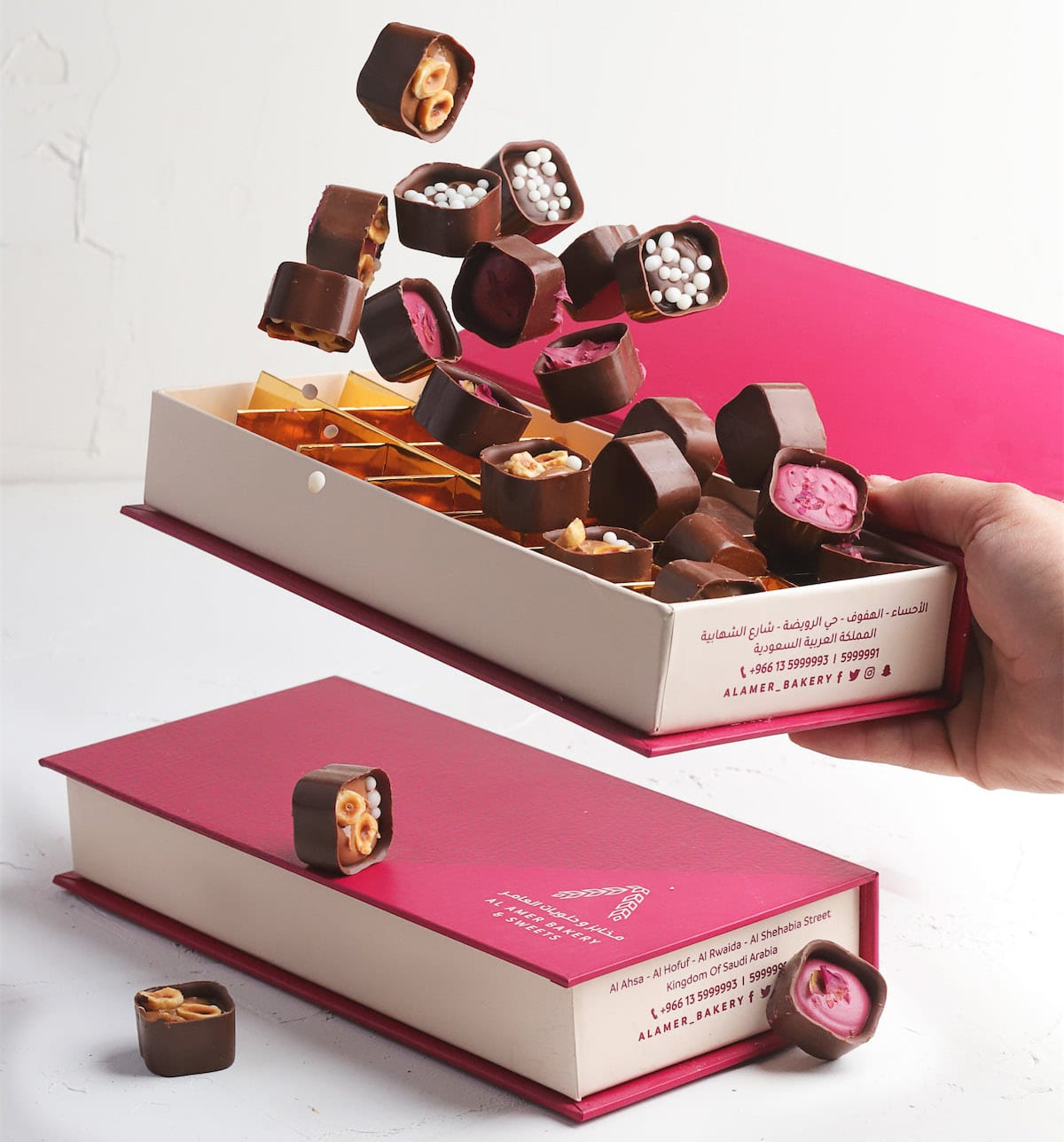 Livraison de chocolat